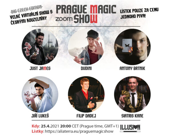 Prague Magic Zoom Show by Illusion bar
